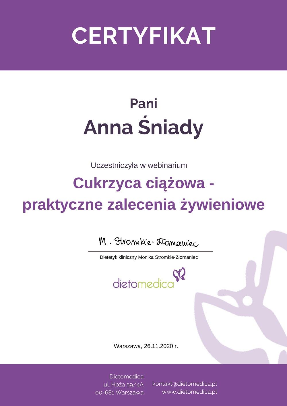 anna_sniady_cukrzycaciazowa